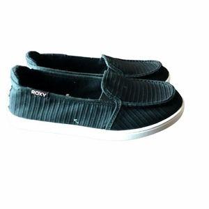 Roxy Minnow VII Women's Slip On Shoes - Black/Whit